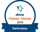 Avvo Client Choice 2016 - Bankuptcy